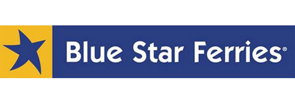 logo blue star ferries